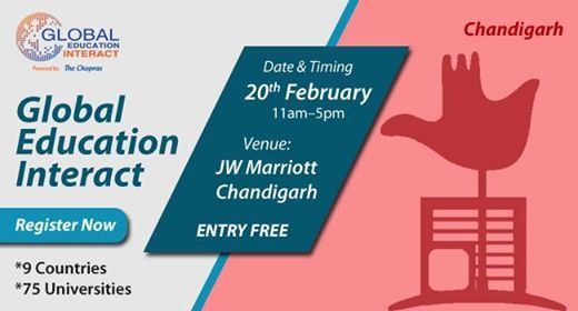 Welcome To Global Education Fair 2019, Chandigarh By The Chopras