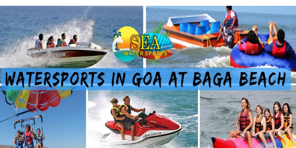Water Sports In Goa at Baga Beach By Sea Water Sports
