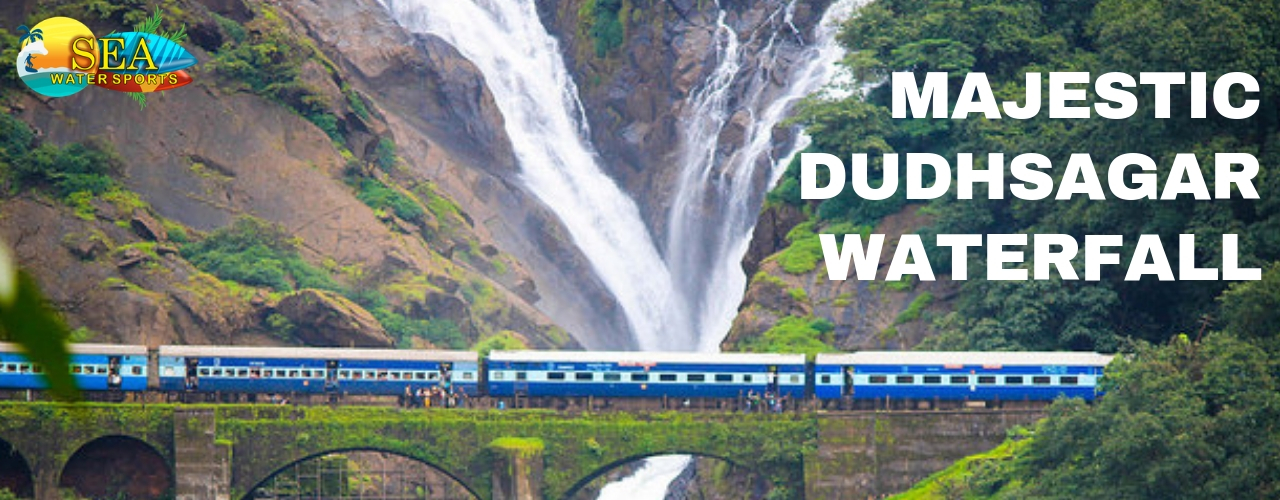 Dudhsagar Waterfall Trip In Goa Booking By Sea Water Sports
