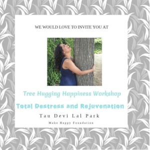 Tree Hugging Happiness workshop