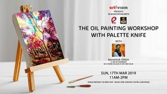 The Oil Painting Workshop with Palette Knife