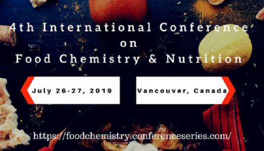 4th International Conference on Food Chemistry & Nutrition