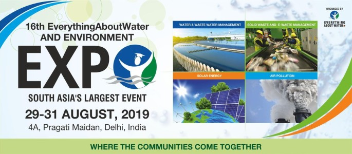 16th Everything About Water & Environment Expo 2019