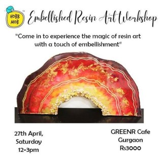 Embellished Resin Art Workshop