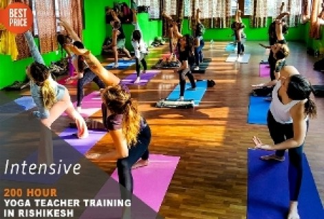 200 Hour Hatha Yoga Teacher Training in Rishikesh RYS200 (March)