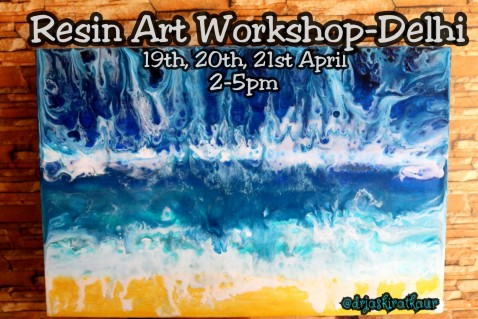 Resin Art Workshop- Delhi NCR
