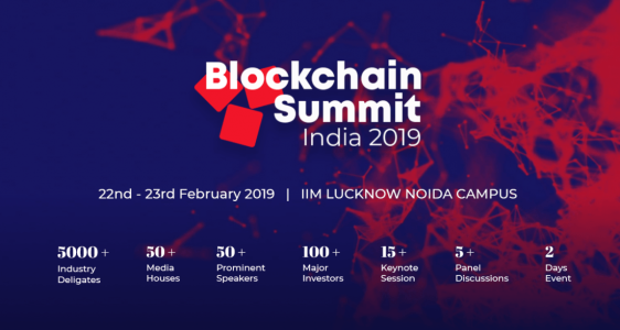 Bolckchain Summit India 2019
