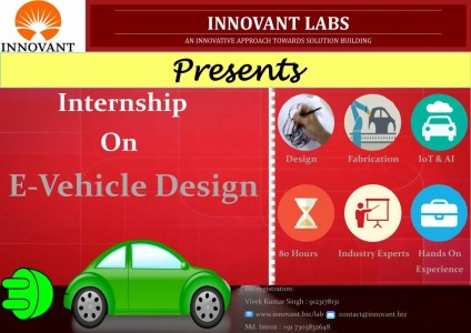 Innovant Internship on E-Vehicle Design