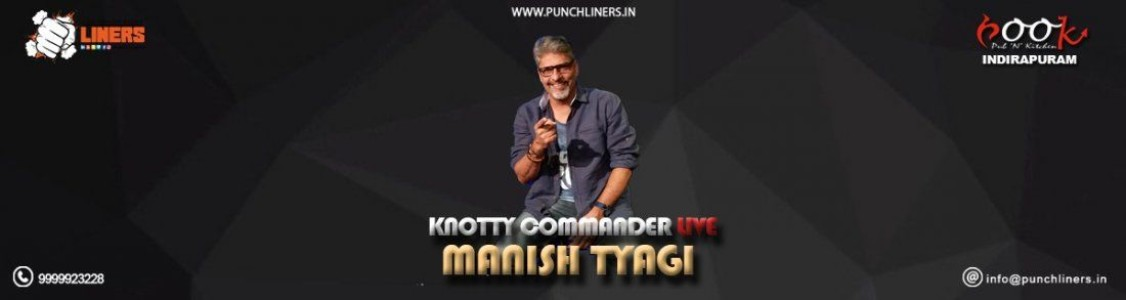 PunchLiners: Standup Comedy Show ft. Manish Tyagi in Ghaziabad