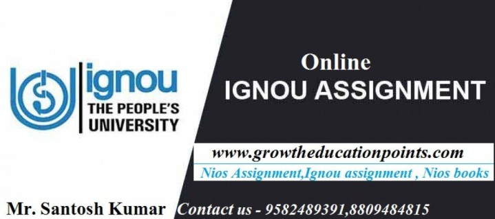 Ignou Solved Assignment For B.A course|| Online M.com Solved Assignment