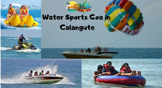 Water Sports In Goa at Calangute By Sea Water Sports