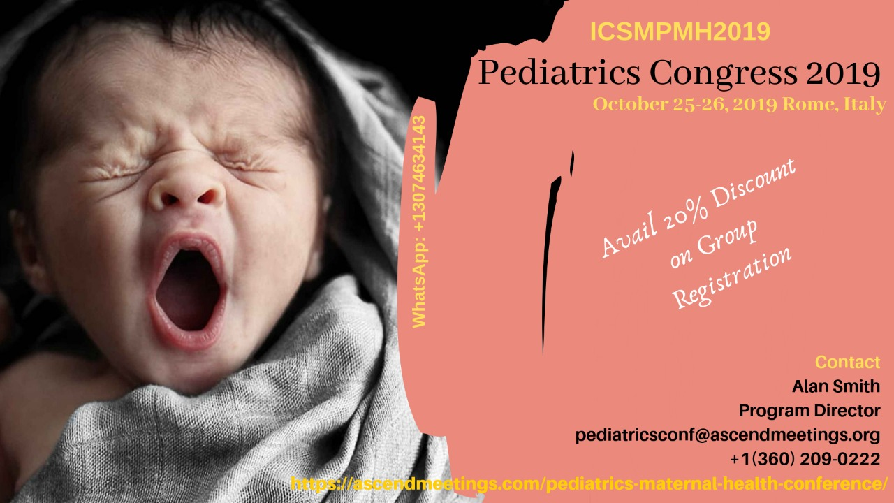 Intercontinental Scholars Meeting on Pediatrics (ICSMPMH2019).